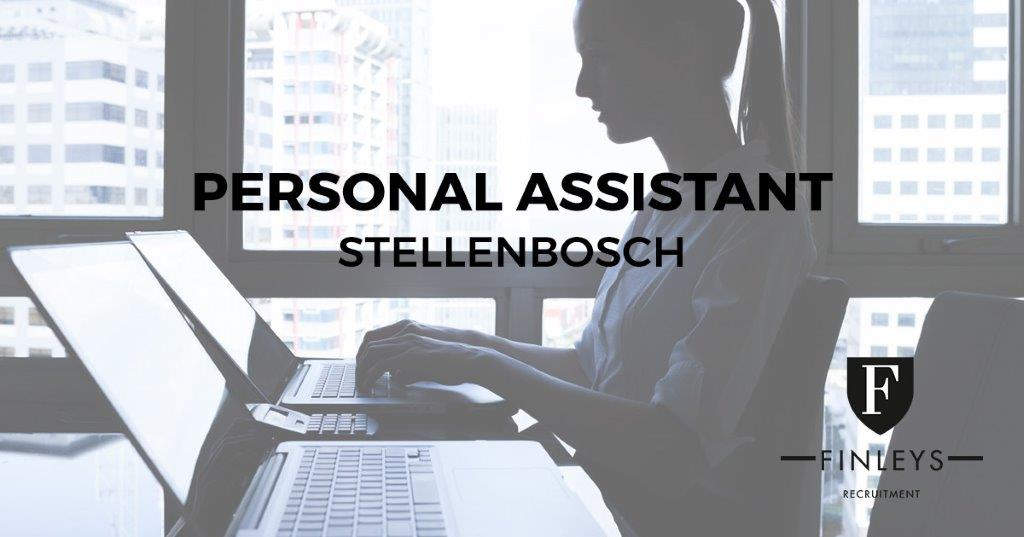 PERSONAL ASSISTANT Finleys Recruitment