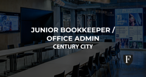 Bookkeeper office admin century city