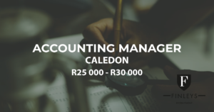 accounting manager caledon