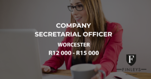 secretarial officer worcester